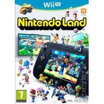 Nintendo Land Wii-u Usado Original Midia Fisica