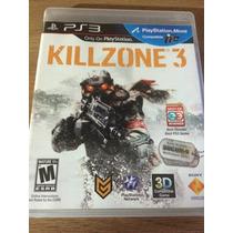 Jogo Killzone 3 Para Ps3 Praticamente Novo Reg1 Portugues Br