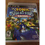 Jogo Sonic Sega All-star Racing Para Ps3 Novo Lacrado Reg 1