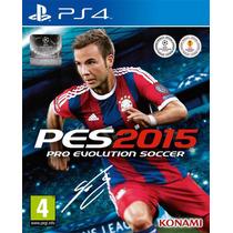 Pes 2015 Ps4 Pro Evolution Soccer Narração Em Português