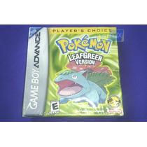 Pokémon Leafgreen Version Original E Lacrado. Gba (advance)