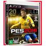 Pes 2016 Ps3 Futebol Midia Fisica Blu-ray Embalagem Lacrada