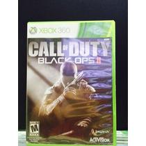 Jogo Call Of Duty Black Ops Ii Xbox 360, Original, Novo