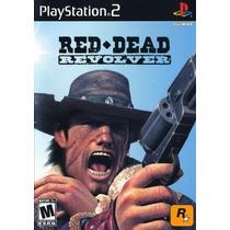 Red Dead Revolver Ps2 Patch Com Capa E Impressão