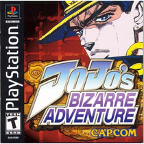 Jojos Bizarre Adventure Playstation 1