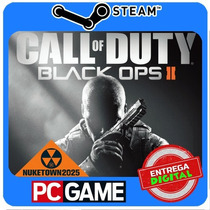 Call Of Duty Black Ops Ii + Nuketown Mp Map Pc Steam Cd-key