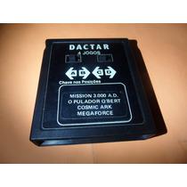 Fita 4 Jogos Atari 2600 Dactar Super Game