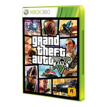 Grand Theft Auto V (gta 5 ) Mídia Física Xbox360 Português