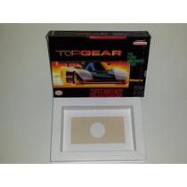 Caixa Top Gear + Berço Incluso, Super Nintendo!!