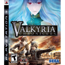 Valkyria Chronicles Jogo Ps3 Original Lacrado