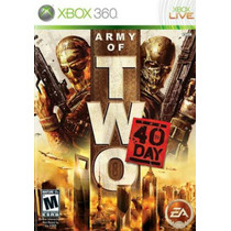Army Of Two 40th Day - Xbox 360