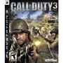 2 Call Of Duty 3+mw 3 Ps3 Novos Originais Midia Fisica