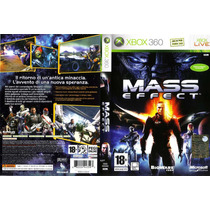 Mass Effect 1 Platinum Raro Duplo Xbox360