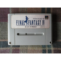 Super Nintendo - Final Fantasy Iv - Japonês Original