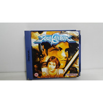 Soul Calibur Sega Dreamcast Original Europeu - Raro