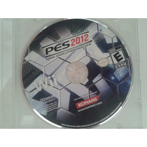 Pes 2012 Pro Evolution Soccer Original- Wii -usado Sem Caixa