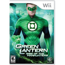 Green Lantern Rise Of The Manhunters/ Lanterna Verde - Wii