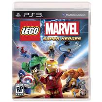 Lego Marvel Super Heroes Ps3 Mídia Física - Lacrado