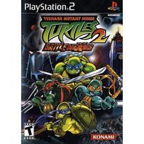 Patch Teenage Mutant Ninja Turtles 2 Battle Ps2 Frete Gratis