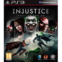 Injustice Gods Among [dublado Português] Psn Ps3 -env. Agora