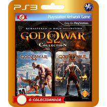 God Of War Collection Em Promoção! (códigos Ps3)