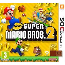 New Super Mario Bros 2 Nintendo 3ds 2ds Midia Fisica Lacrado