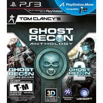Jogo Novo Tom Clancy`s Ghost Recon Anthology Playstation 3