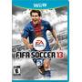 Fifa Soccer 13 Nintendo Wii U Original Novo Lacrado E-sedex