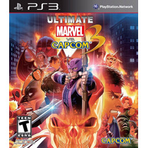 Ultimate Marvel Vs. Capcom 3 - Ps3 - Pronta Entrega!