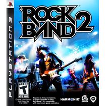 Jogo Novo Lacrado Rock Band 2 Para Playstation 3