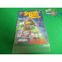 Manual Scooby-doo Mystery Para Super Nintendo