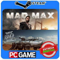 Mad Max + The Ripper Dlc Pc Steam Cd-key Envio Imediato