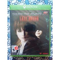 Dead Or Alive 5 Last Round Xbox One Em Disco Lacrado Leilão