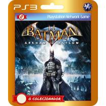 Batman: Arkham Asylum Para Ps3 Em Promoção!