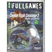 Combat Flight Simulator 3 - Novo -lacrado - Veja O Vídeo
