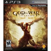 Jogo Do Ps3 God Of War: Ascension Novo Lacrado Blu-ray