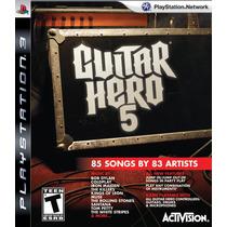 Guitar Hero 5 - Jogo Playstation 3 Semi Novo Midia Fisica