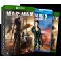 Mad Max Edição Lançamento Xbox One Mídia Física