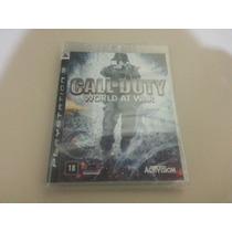 Jogo Call Of Duty World At War Ps3 - Novo Original Lacrado