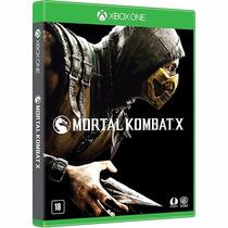 Mortal Kombat X Jogo Xbox One Original Lacrado