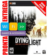 Dying Light Pc Português Br Dvd Original Lacrado Nota Fiscal