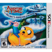 Adventure Time The Secret Of The Nameless Kingd Nintendo 3ds