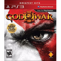 Jogo Ps3 God Of War Iii Greatest Hits Original Lacrado