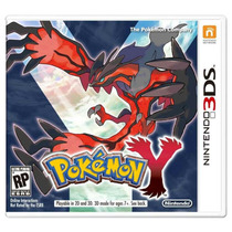 Pokemon Y Nintendo 3ds / Xl Lacrado Pronta Entrega
