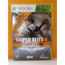 Jogo Tiro - Sniper Elite 3 Ultimate Edition - Xbox 360- Novo