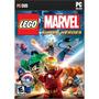 Lego Marvel Super Heroes - Pc Dvd - Original - Portugues