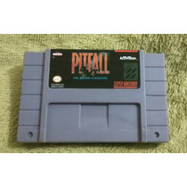Pitfall!!! Cartucho Super Nintendo!!! Fita Snes!!!