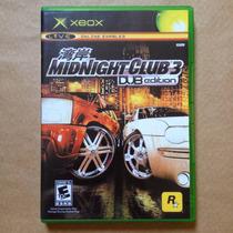 Midnight Club 3 Dub Edition Xbox Classic. Americano Original
