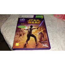 Star Wars Kinect Completo E Original Americano Xbox360