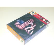 Caixa Resident Evil 2 N64 + Berço Incluso!!!!!